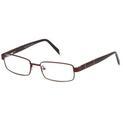 Carducci 7037 Bronze Mens full rim prescription glasses online