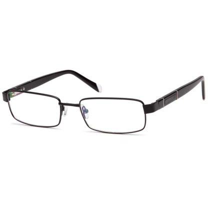 Carducci 7037 Black Mens full rim prescription glasses online
