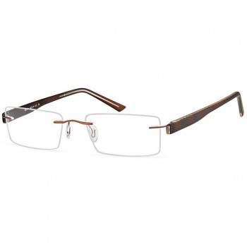 Buy Emporium 7556 rimless prescription glasses online