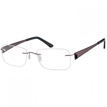 Buy Emporium 7558 rimless prescription glasses online
