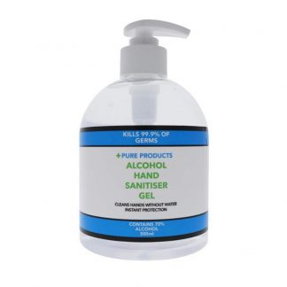 Pure Products Hand Sanitiser Gel 500ml